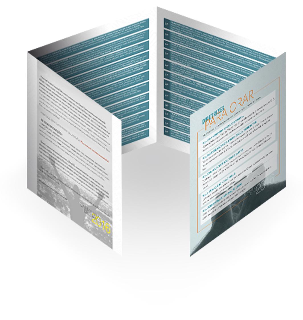 Folder Oracao 3d